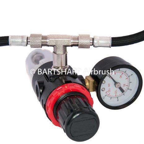 BARTSHARP Airbrush Air Hose Splitter Manifold 2 Way