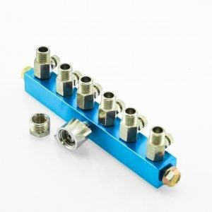 BARTSHARP Airbrush Air Hose Splitter Manifold