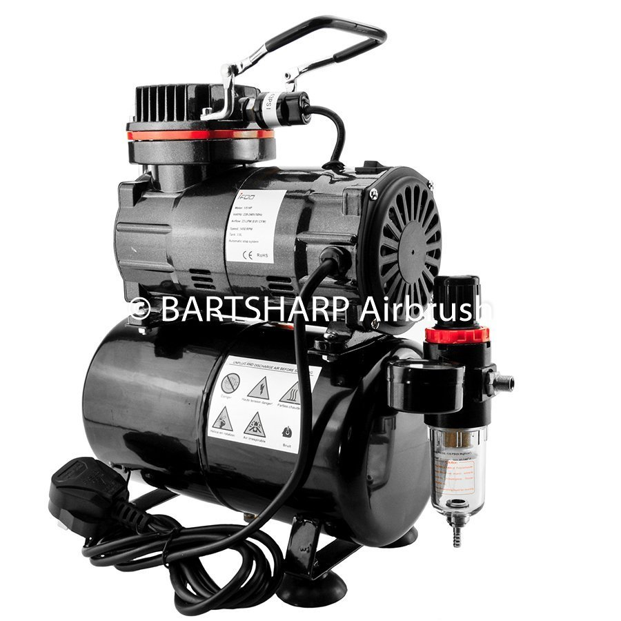 BARTSHARP Airbrush Compressor TC80T