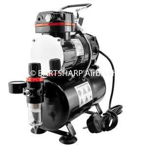 BARTSHARP Airbrush TC88T Airbrush Compressor