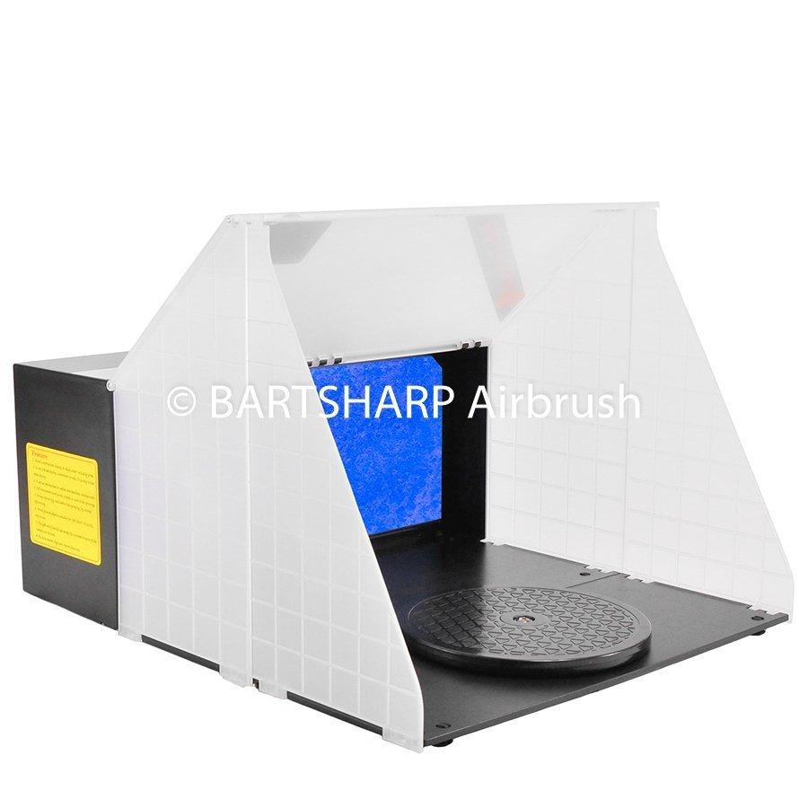 BARTSHARP Airbrush Spray Booth DC