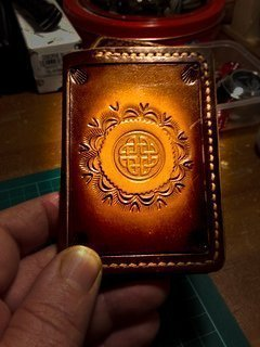 Leather Work By Pete Hart Using Bartsharp 134 Airbrush and TC80T Airbrush Compressor