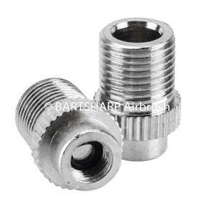 BARTSHARP Airbrush Air Hose Connector 1 Eighth BSP Male to 5mm Female