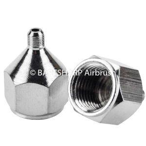BARTSHARP Airbrush Air Hose Connector 1 Quarter BSP Female to M5 Male