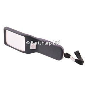 BARTSHARP Airbrush Hand Held Magnifier 017 Black And White