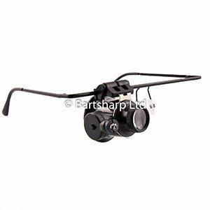 BARTSHARP Airbrush Magnification Glasses 9892A Single Lens