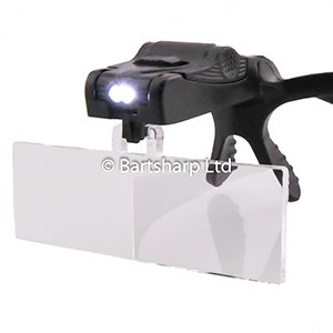 BARTSHARP Airbrush Magnification Glasses