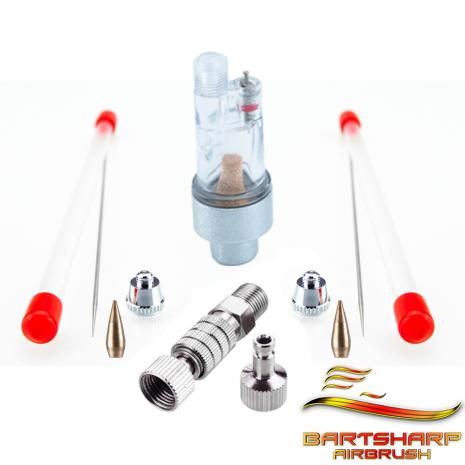 needle / nozzle / nozzle cap set.