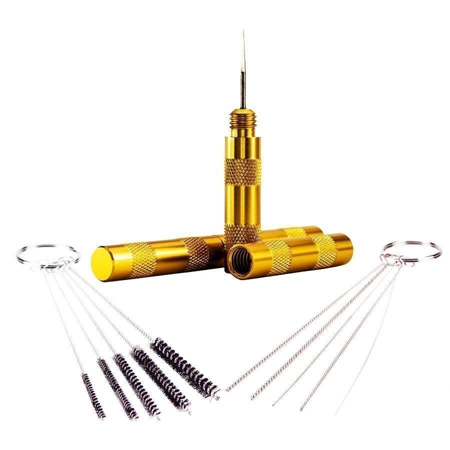BARTSHARP Airbrush Wash Needle Cleaning Brushes & Needles