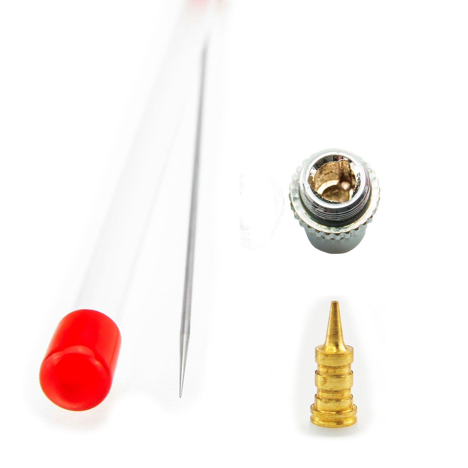 Airbrush Needle Nozzle Nozzle Cap Larger Design