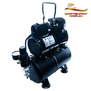 Airbrush Compressor With Tank Electric Fan