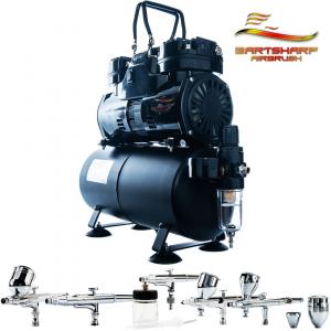 Airbrush Compressor Kit AC04 BARTSHARP Airbrush Kits