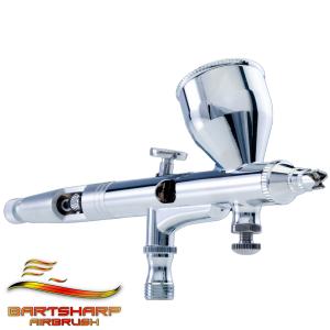 180 Dual action gravity feed airbrush kit